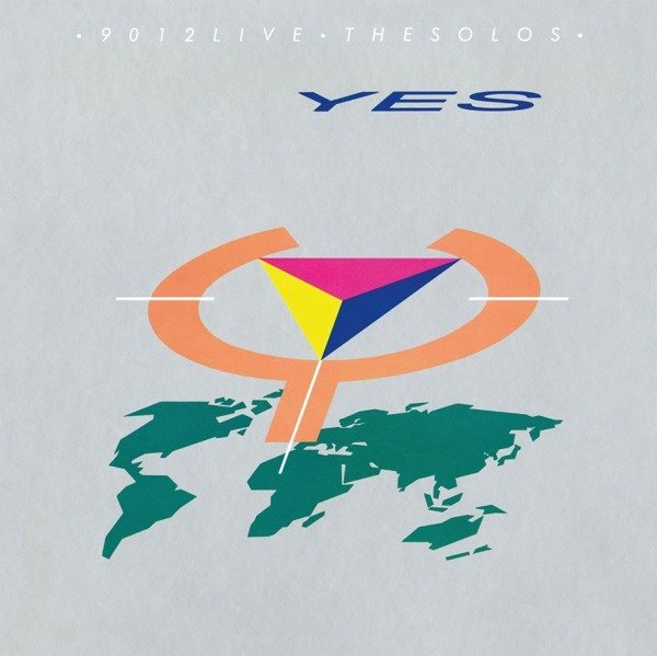 YES 9012 Live the Solos LP